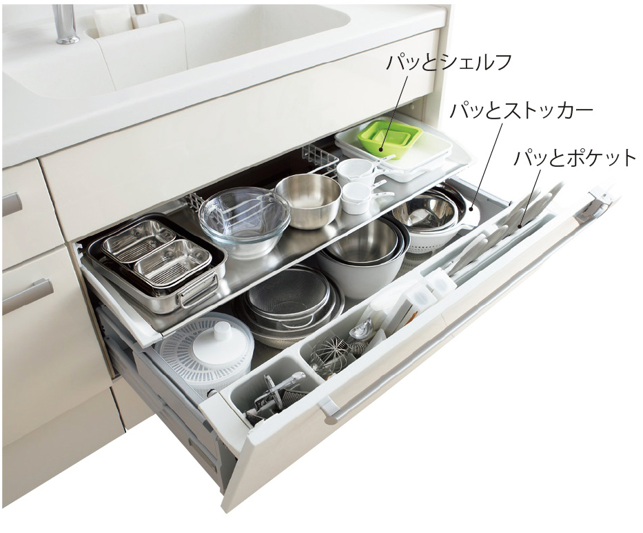 収納>|キッチン収納アイデア ...